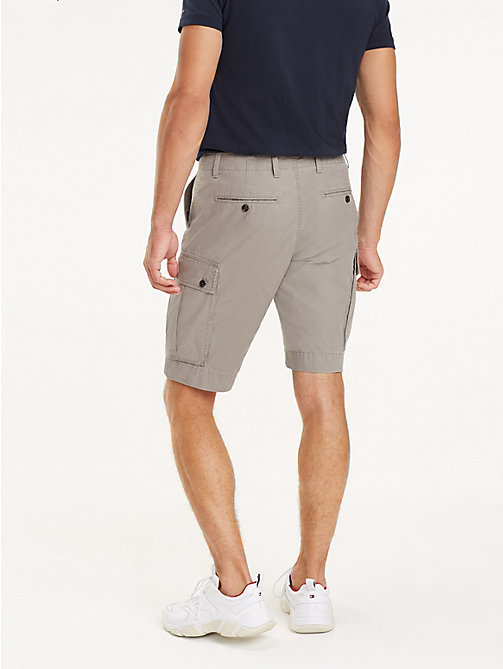 TOMMY HILFIGER Lightweight Cargo Shorts - STEEPLE GRAY - TOMMY HILFIGER Shorts - detail image 1