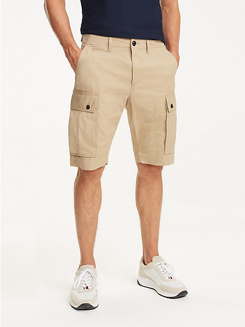 TOMMY HILFIGER Lightweight Cargo Shorts - BATIQUE KHAKI - TOMMY HILFIGER Shorts - main image