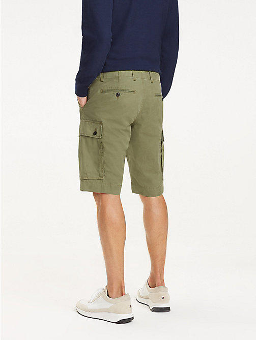 TOMMY HILFIGER Lightweight Cargo Shorts - BURNT OLIVE - TOMMY HILFIGER Shorts - detail image 1