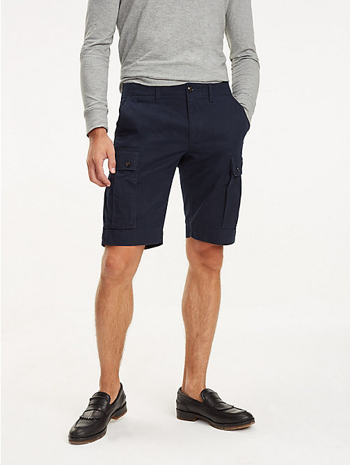 TOMMY HILFIGER Lightweight Cargo Shorts - SKY CAPTAIN - TOMMY HILFIGER Shorts - main image