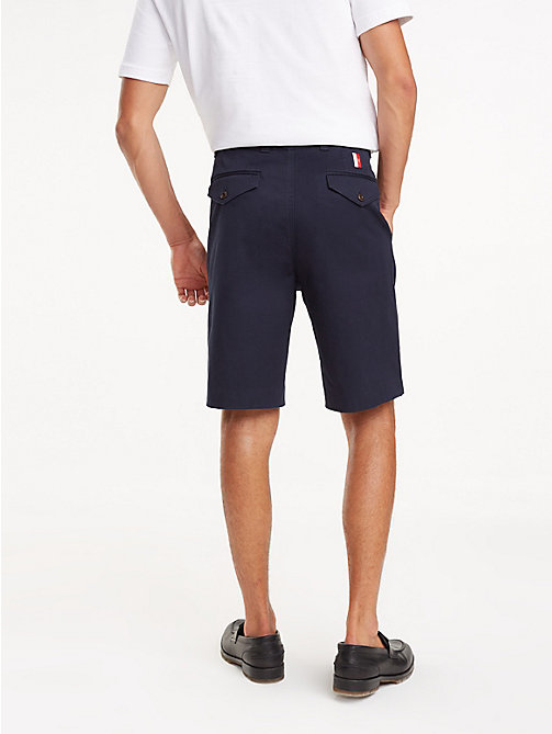 TOMMY HILFIGER Icon Ivy Shorts mit Falten - NIGHT SKY - TOMMY HILFIGER NEW IN - main image 1