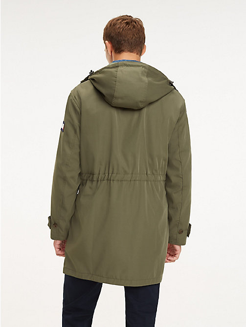 ... TOMMY HILFIGER Icon Kapuzen-Parka - LIGHT DEEP DEPTHS - TOMMY HILFIGER  NEW IN - f0248e9123