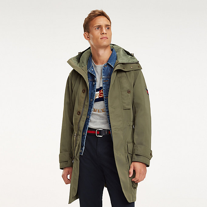 buy popular 0d744 d0d0b Icon Kapuzen-Parka | Tommy Hilfiger
