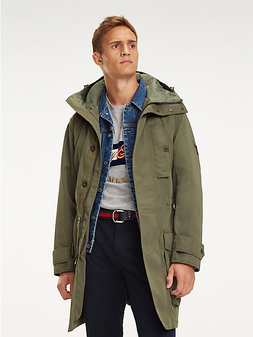 TOMMY HILFIGER Icon Kapuzen-Parka - LIGHT DEEP DEPTHS - TOMMY HILFIGER NEW IN - main image