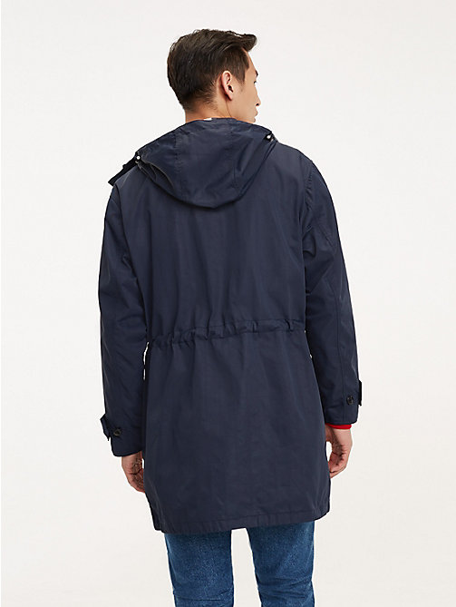 TOMMY HILFIGER Icon Kapuzen-Parka - SKY CAPTAIN - TOMMY HILFIGER NEW IN - main image 1