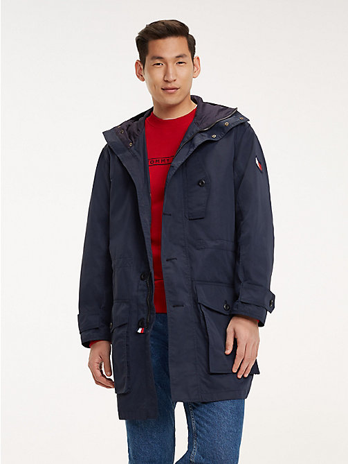 TOMMY HILFIGER Icon Kapuzen-Parka - SKY CAPTAIN - TOMMY HILFIGER NEW IN - main image