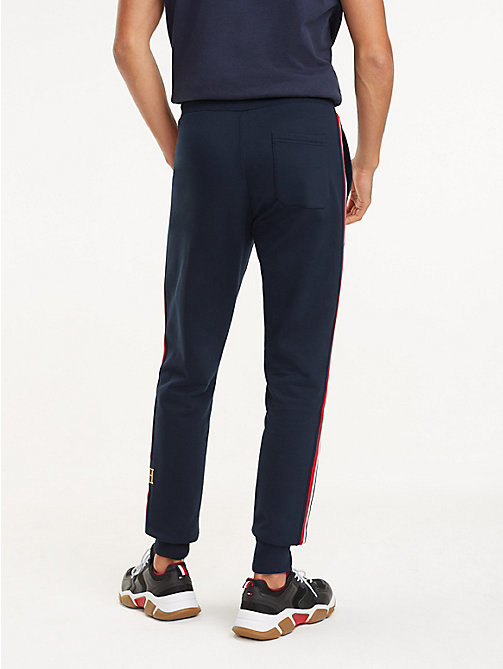 TOMMY HILFIGER Signature Tape Joggers - SKY CAPTAIN - TOMMY HILFIGER NEW IN - detail image 1
