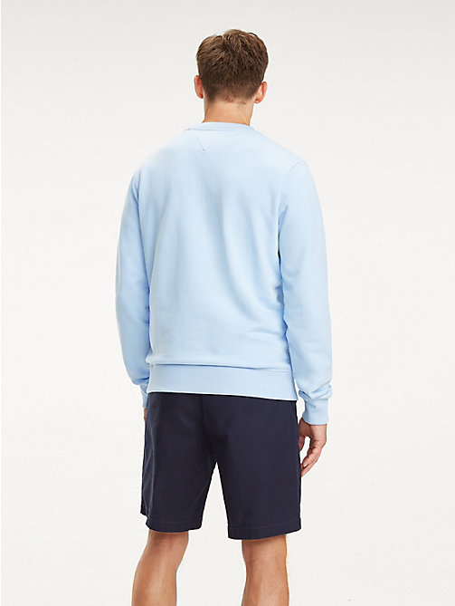 TOMMY HILFIGER Signature Tape Logo Sweatshirt - CHAMBRAY BLUE - TOMMY HILFIGER Sweatshirts - detail image 1