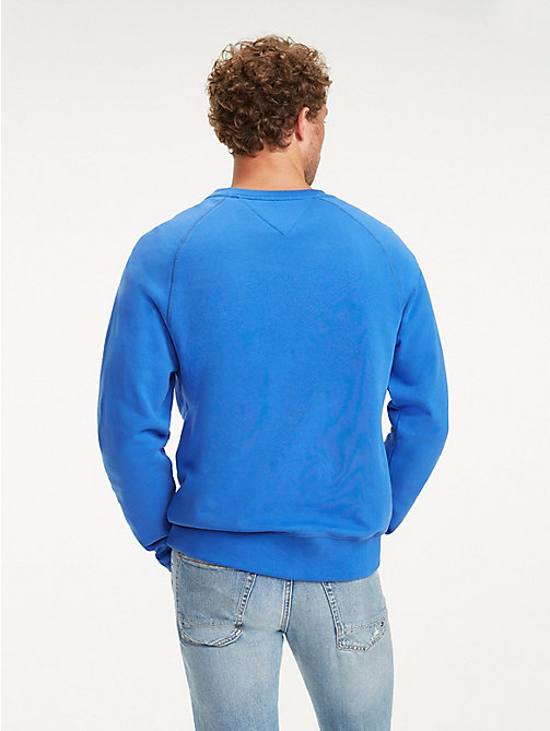 TOMMY HILFIGER Sweatshirt mit Metallic-Logo - ICON BLUE - TOMMY HILFIGER NEW IN - main image 1