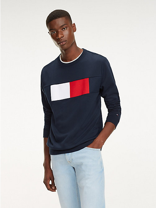 TOMMY HILFIGER Sweat à drapeau colour-block - SKY CAPTAIN - TOMMY HILFIGER Sweats - image principale