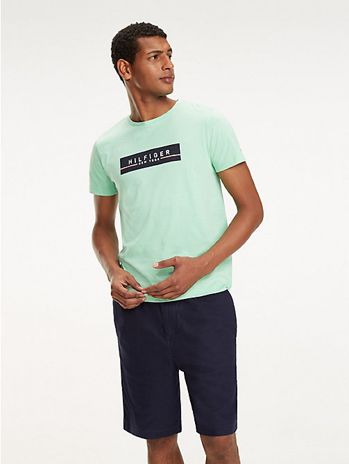 TOMMY HILFIGER New York Logo T-Shirt - SPRING BUD - TOMMY HILFIGER T-Shirts - main image