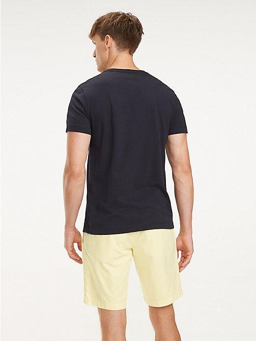 3124926f8e5b3 ... TOMMY HILFIGER T-shirt à logo multicolore en coton - SKY CAPTAIN -  TOMMY HILFIGER