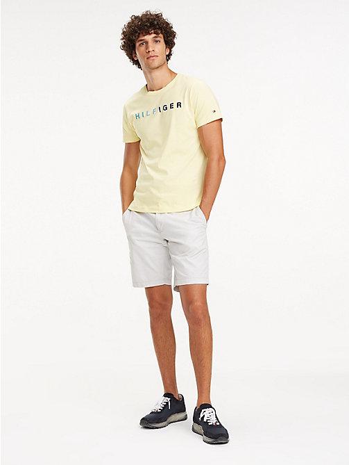 06fbd0d8e98371 TOMMY HILFIGERMulticolour Logo Cotton T-Shirt. £45.00. LEMON MERINGUE. x.  NEW