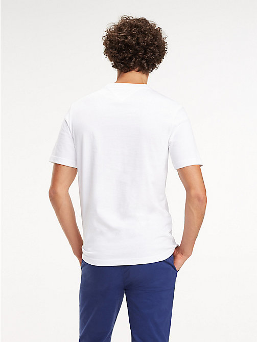TOMMY HILFIGER Relaxed Fit T-Shirt mit Monogramm - BRIGHT WHITE - TOMMY HILFIGER NEW IN - main image 1