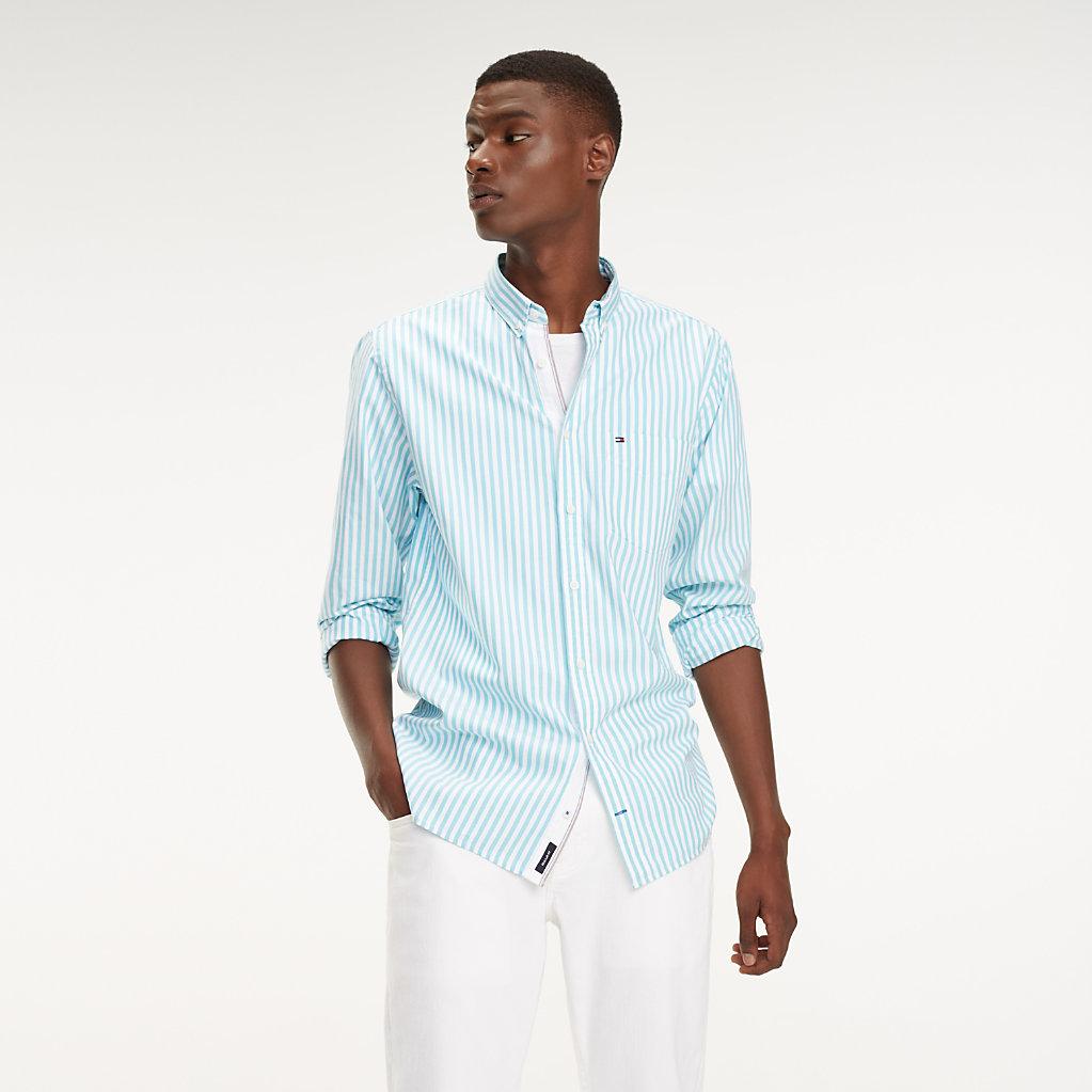 Tommy Hilfiger - Camisa Essential de rayas en puro algodón - 2