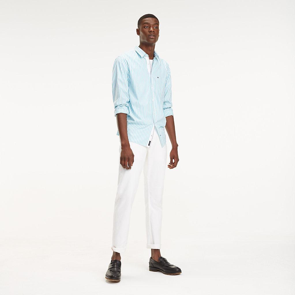 Tommy Hilfiger - Camisa Essential de rayas en puro algodón - 3