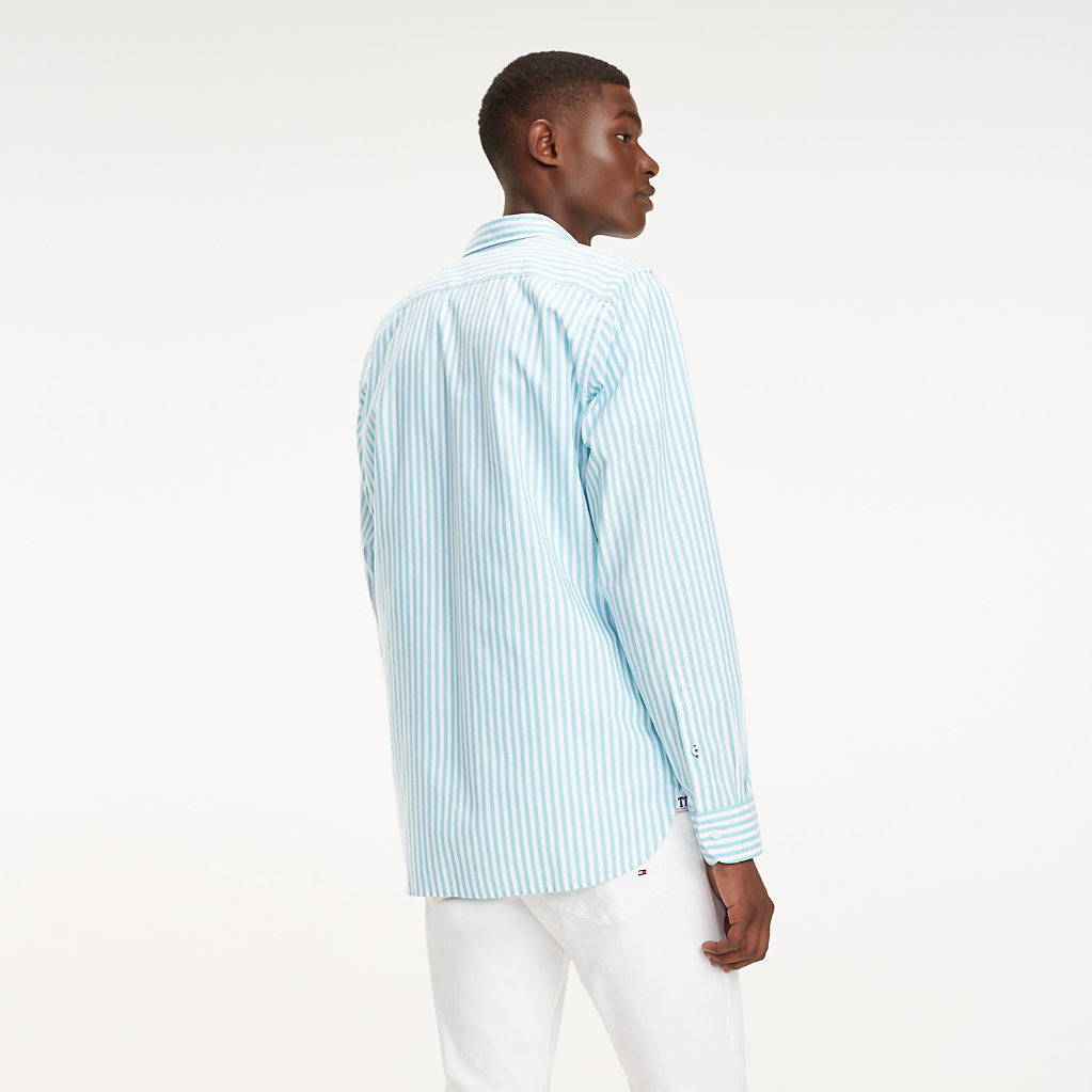 Tommy Hilfiger - Camisa Essential de rayas en puro algodón - 4