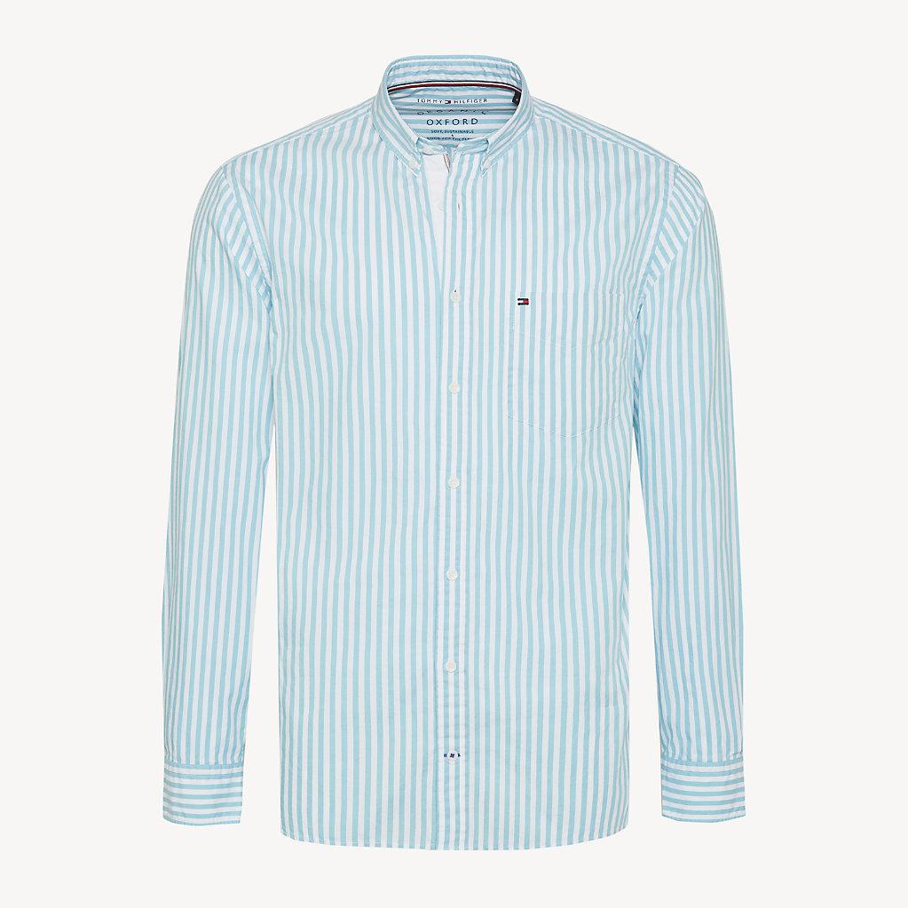 Tommy Hilfiger - Camisa Essential de rayas en puro algodón - 1