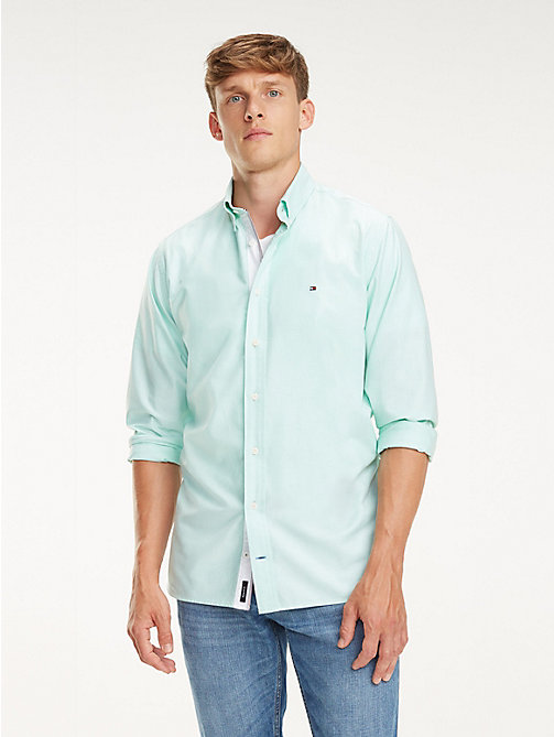 TOMMY HILFIGER Essential Pure Cotton Regular Fit Shirt - KATYDID - TOMMY HILFIGER Casual Shirts - detail image 1
