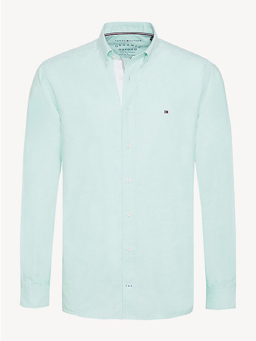 TOMMY HILFIGER Essential Pure Cotton Regular Fit Shirt - KATYDID - TOMMY HILFIGER Casual Shirts - main image