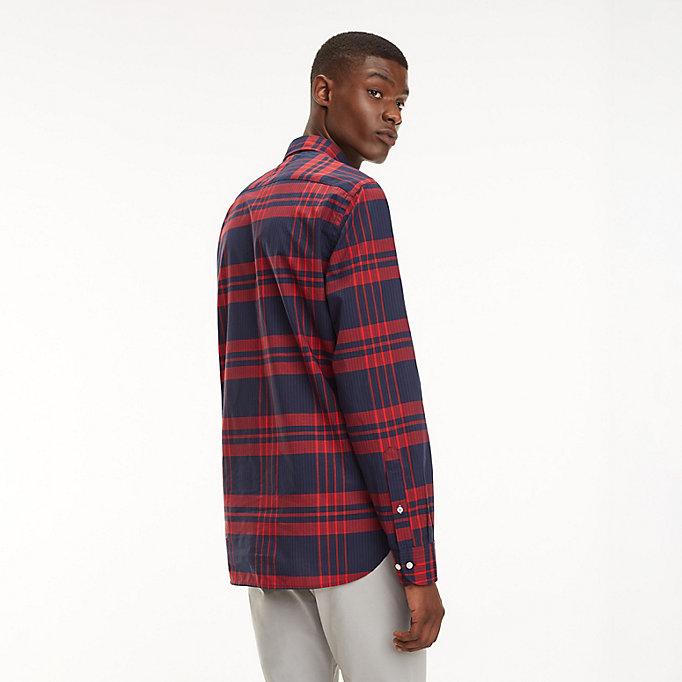 Camicia a quadri scozzesi | HAUTE RED MULTI | Tommy Hilfiger
