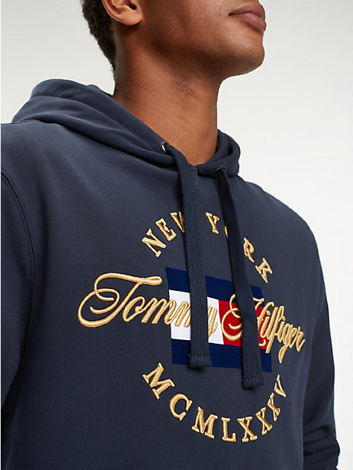be21769fd0 TOMMY HILFIGERPure Cotton Logo Hoody. £120.00. SKY CAPTAIN. x