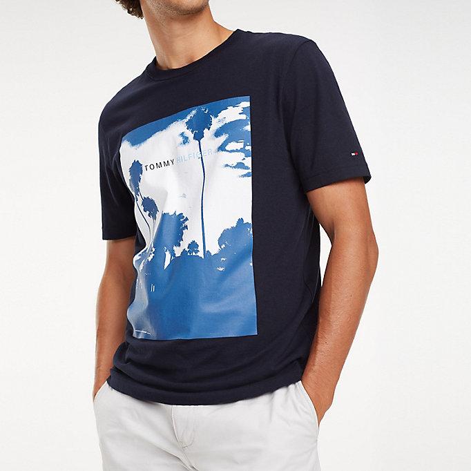 73a080fa Palm Photo Print T-Shirt   SKY CAPTAIN   Tommy Hilfiger
