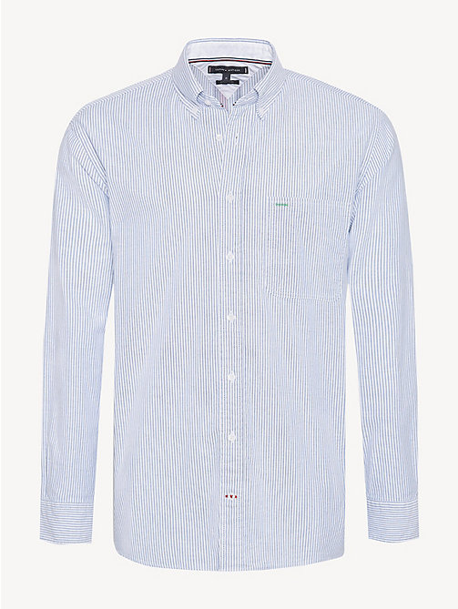 TOMMY HILFIGER Gestreiftes Button-down-Hemd - SHIRT BLUE / BRIGHT WHITE - TOMMY HILFIGER Freizeithemden - main image