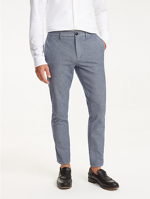 512b9d14e TOMMY HILFIGERDenton Herringbone Straight Fit Chinos