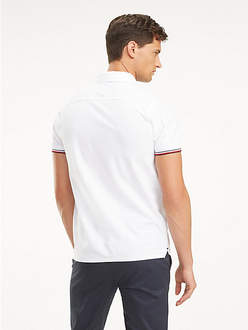 a632910ec343 TOMMY HILFIGERMercedes Benz Cotton Polo. £85.00. BRIGHT WHITE. x. NEW