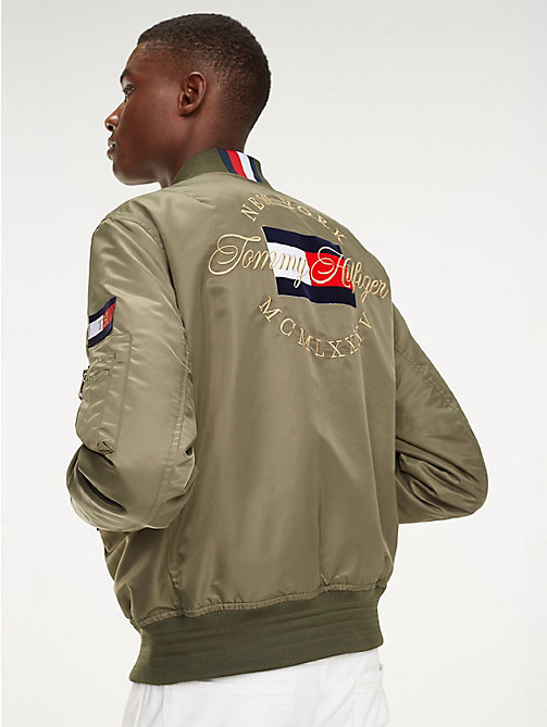 TOMMY HILFIGER Bomberjacke mit Flag - LIGHT DEEP DEPTHS - TOMMY HILFIGER Bomberjacken - main image 1