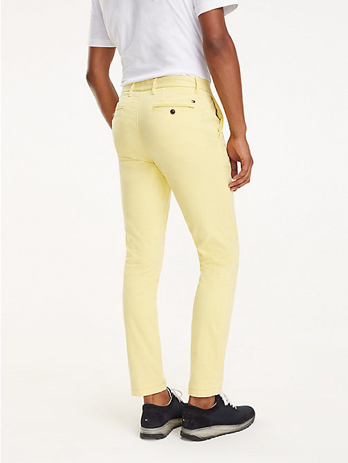 TOMMY HILFIGER SLIM BLEECKER CHINO GMD FLEX - SUNSHINE - TOMMY HILFIGER Chinos - detail image 1