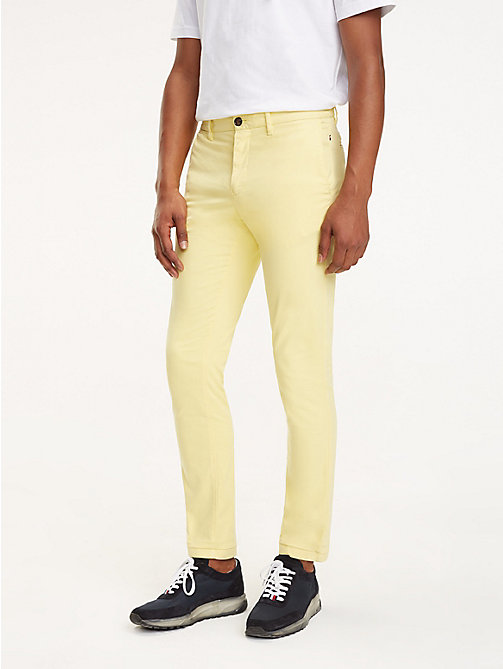 TOMMY HILFIGER SLIM BLEECKER CHINO GMD FLEX - SUNSHINE - TOMMY HILFIGER Chinos - main image