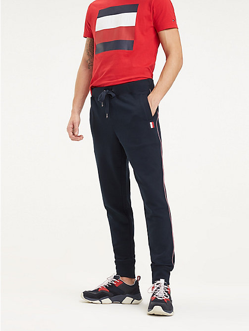 Rode Joggingbroek Heren.Herenjoggingbroeken Sweatpants Tommy Hilfiger Nl
