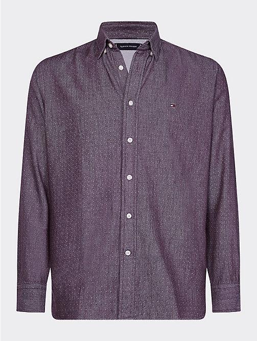 Chemise à imprimé vichy Tommy Hilfiger