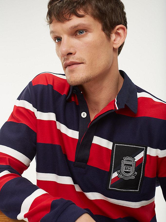 Rugby Shirt aus reiner Baumwolle