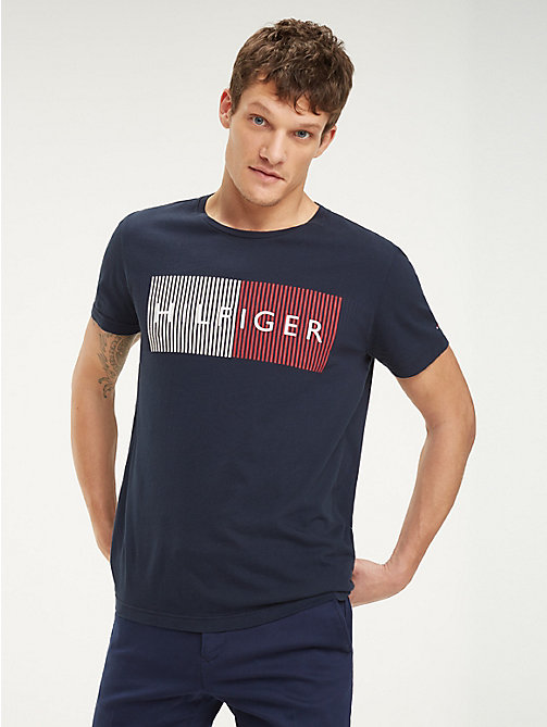 f5c5f24153 Men's T-Shirts | Summer T-Shirts for Men | Tommy Hilfiger® PT