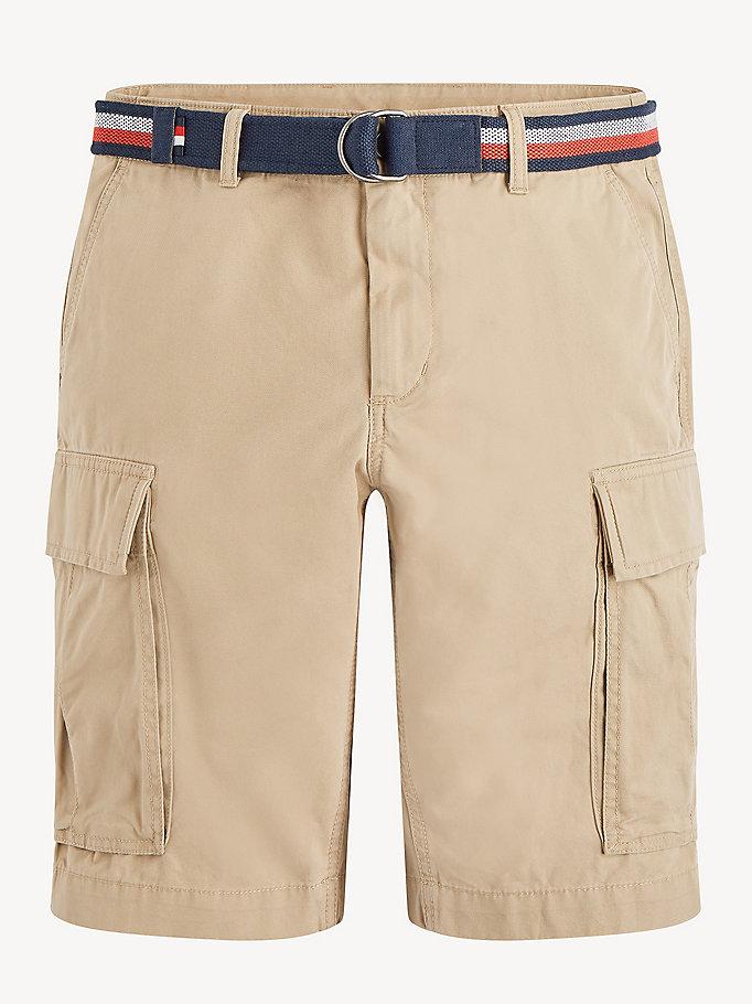 db25ea1dd2 Shorts cargo con cintura iconica   BATIQUE KHAKI   Tommy Hilfiger