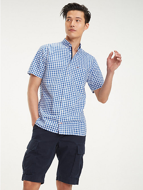 48999009 Men's Shirts | Flannel & Denim Shirts | Tommy Hilfiger® IE