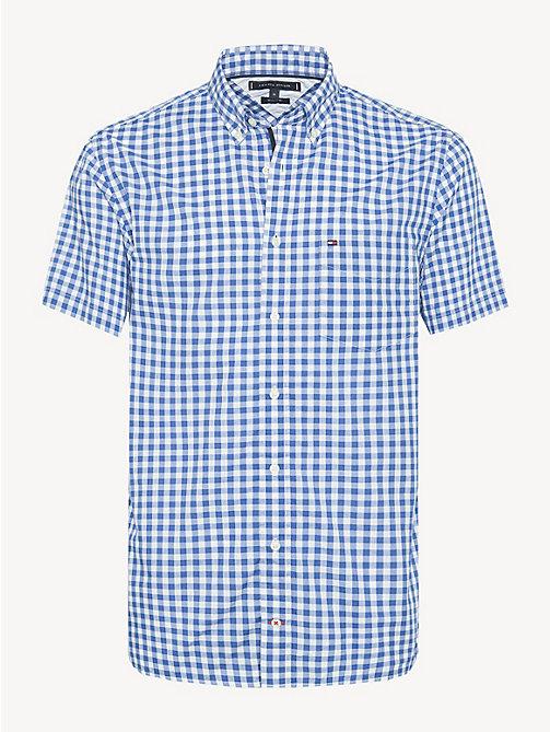 cf1db867a05c TOMMY HILFIGERGingham Short Sleeve Poplin Shirt