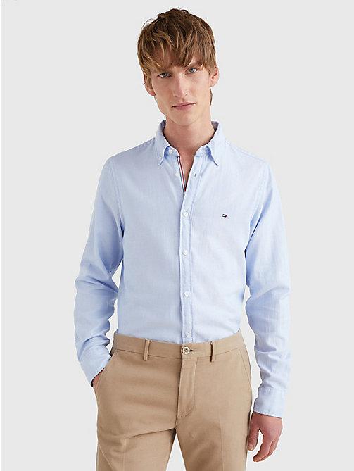 Heren Overhemd Met Manchetknopen.Herenoverhemden Tommy Hilfiger Nl