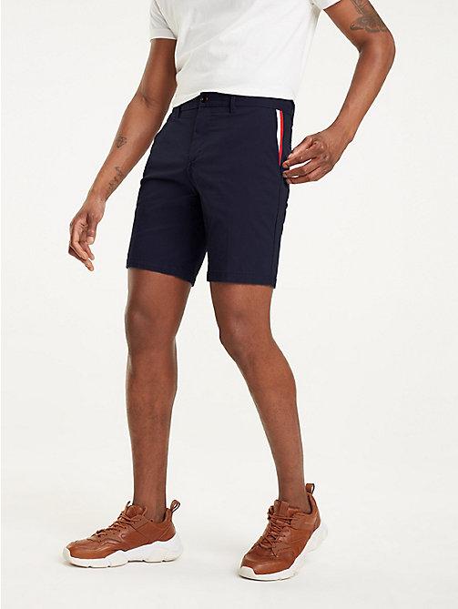 ae3faa92b995d4 shorts denton regular fit iconici blue da uomo tommy hilfiger