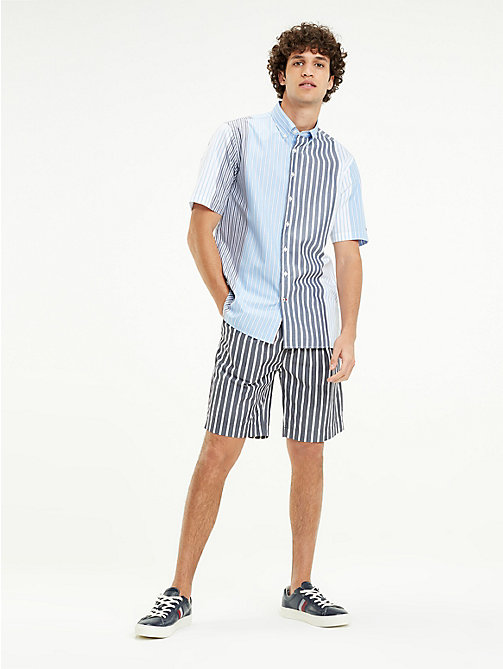 4bff019f TOMMY HILFIGERRelaxed Fit Short Sleeve Mixed Stripe Shirt. €89.90. NEW