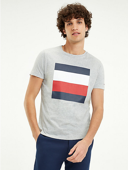0f164add TOMMY HILFIGERSignature Colour-Blocked Design T-Shirt. €49.90. NEW