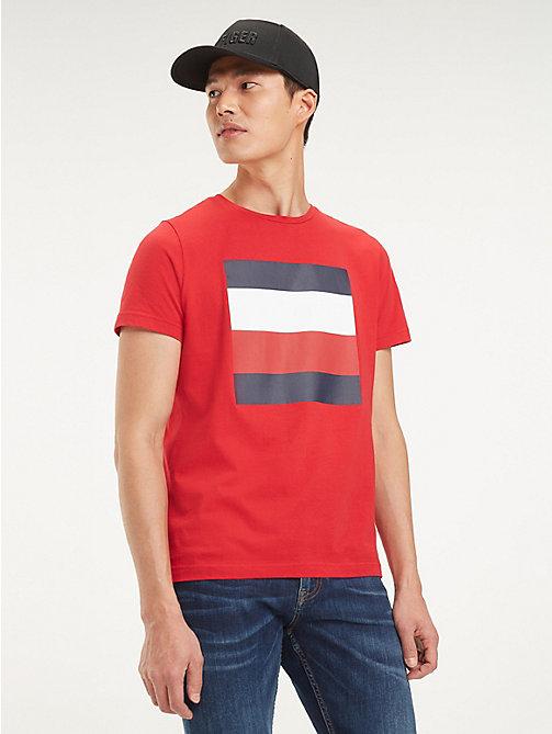 0f164add TOMMY HILFIGERSignature Colour-Blocked Design T-Shirt. €49.90. NEW