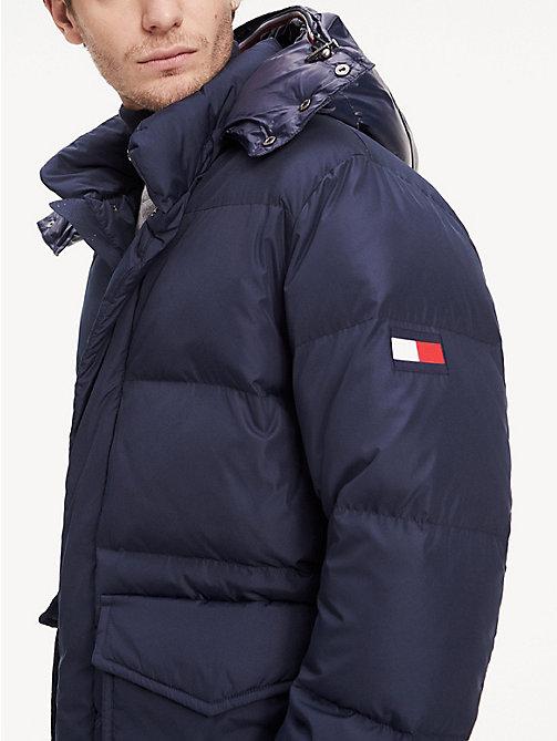 tommy hilfiger manteau laine moon homme