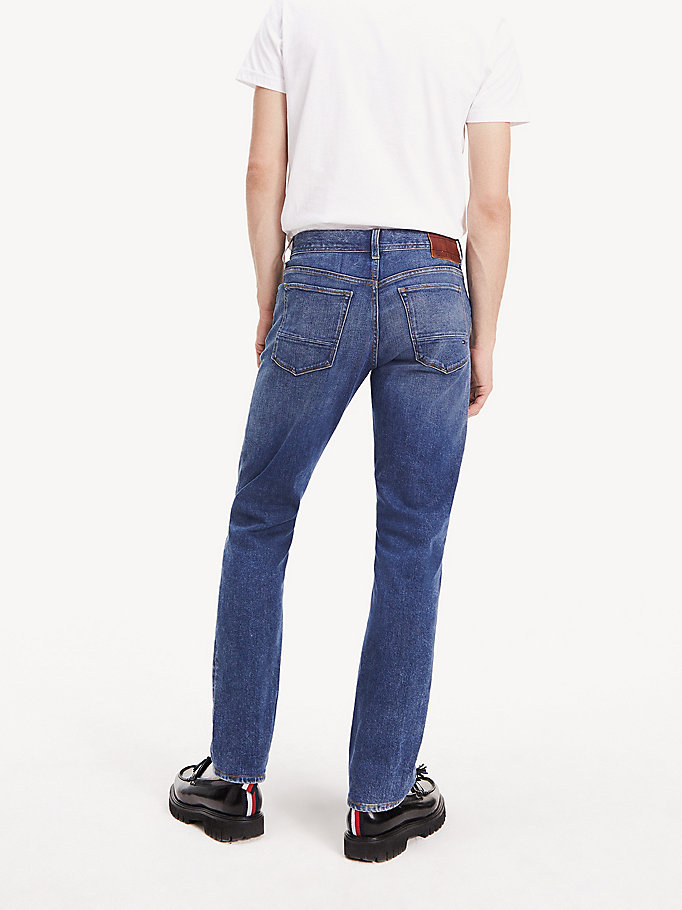 new appearance better autumn shoes Bleecker Slim Fit Jeans