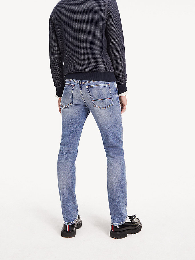shop latest discount fashion style Bleecker Slim Fit Faded Stretch Jeans