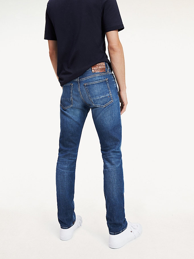 Bleecker slim fit jeans met stretch | DENIM | Tommy Hilfiger