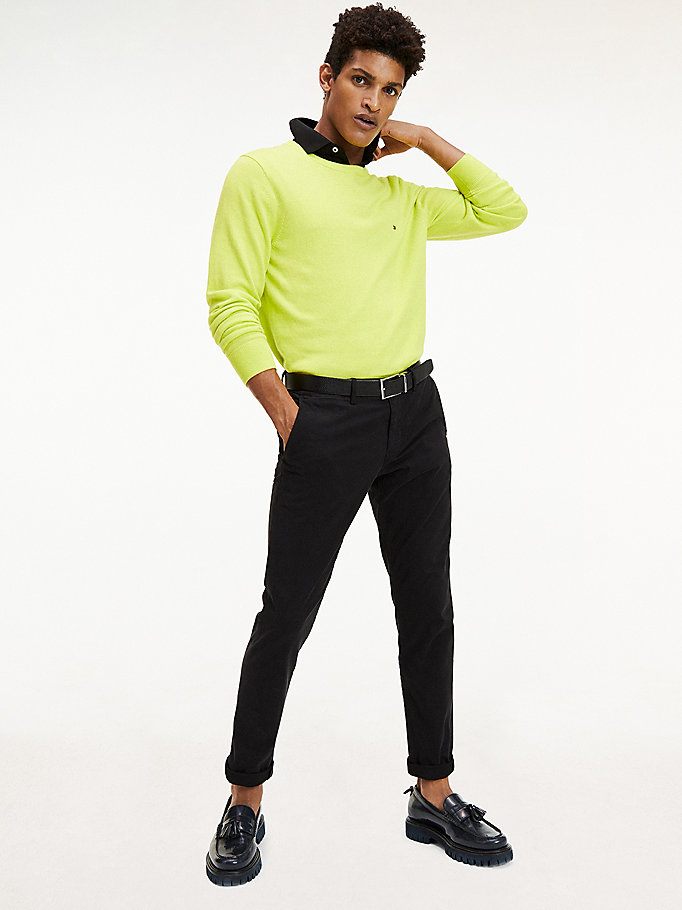 black th flex bleecker chinos for men tommy hilfiger